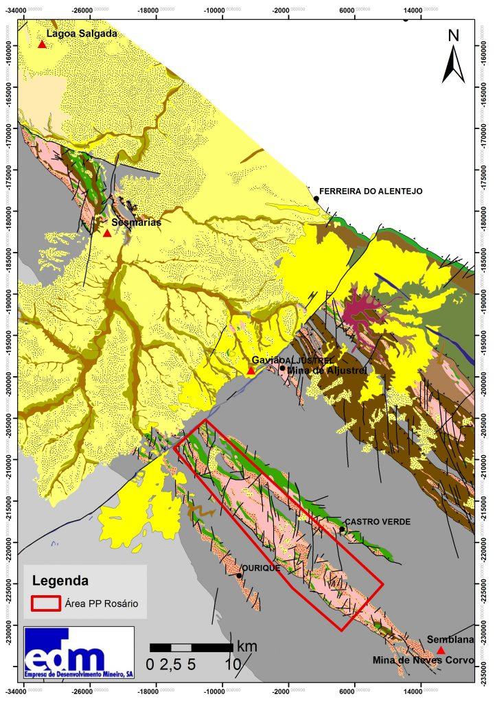 Enquadramento geológico regional_minas